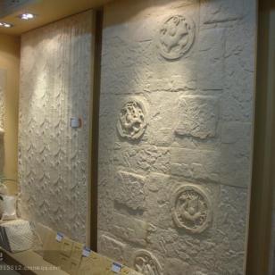 天然砂岩电视背景墙壁画图片