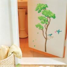 专业生产墙壁贴纸/铜版纸八色喷绘机!