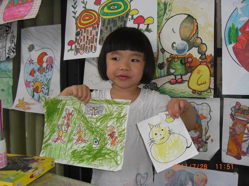 供应成都西门少儿美术培训幼儿美术培图片