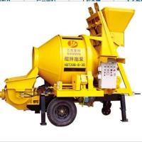 混凝土搅拌拖泵HBT20