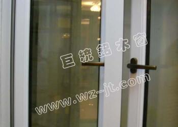 质断桥铝合金外开窗环保节能图片