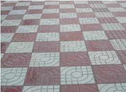 道板供货商 供应无锡宜兴人行道板砖 广场砖 高清图片