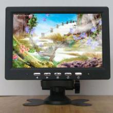 供应7寸液晶电视7寸高清数字电视7寸带VGA/AV接口电视现货批发