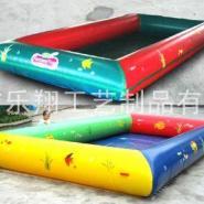 PVC夹网布水池/充气大型水池图片