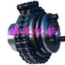 供应摩擦式双排链轮扭矩限制器骥跃扭力联轴器高质量链轮扭力离合批发