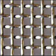 16目白钢丝轧花网图片