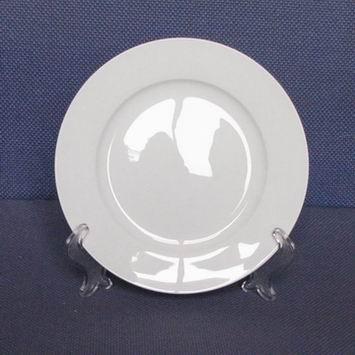 唐山骨质瓷工厂 供应骨质瓷白胎 餐具 6寸平盘 大量供应