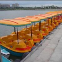 供应2015年2-3人新款脚踏船价格、公园脚踏船、脚踏船价格、游船