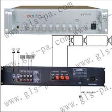供应公共广播系统合并式定压功放60W100W150W-700W