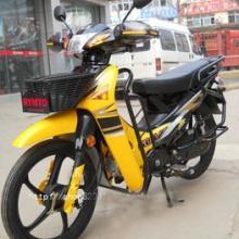 日雅110弯梁车/轻便摩托车/带护手保险杆两轮助力车-790元批发