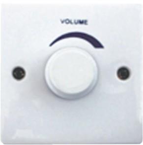 供应音量控制开关,吸顶喇叭,壁挂音箱,铝合金防水音柱专用音量调节器