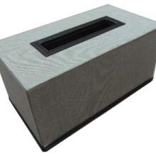 供应创意方形皮质车用纸巾盒定制批发批发