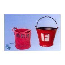 消防桶圆形图片