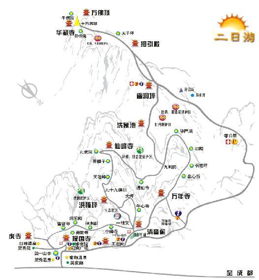 成都市旅游地图_成都市旅游地图厂家_供应峨眉山旅游地图_一呼百应网