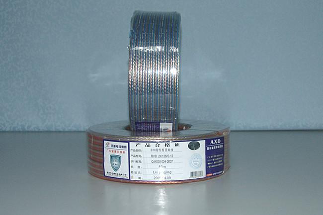 讯道发烧线音箱线透明线300足芯线销售