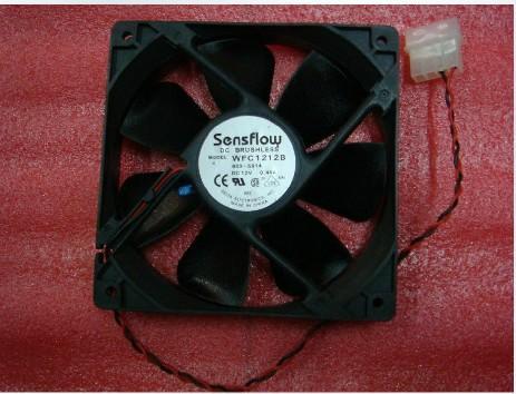 供应台达WFC1212B 12cm温控双滚珠12025风扇