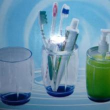供应时尚创意精美水晶牙刷架套装 创意牙刷架套装 礼品套装