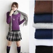 秋冬必备韩版保暖高领针织打底衫图片
