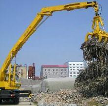 供应垃圾发电行业垃圾的卸车堆高喂料机