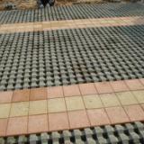 供应陕西渗水砖草坪砖侧坡地砖厂,西安植草砖透水砖规格,西安停车场植草砖草坪砖养护