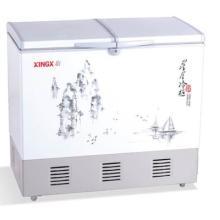 供应星星冷柜双温顶开门水墨系列BCD-196F/226F