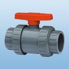 供应rpp/pvc/pvdf丝扣塑料球阀,内螺纹塑料球阀q11f图片