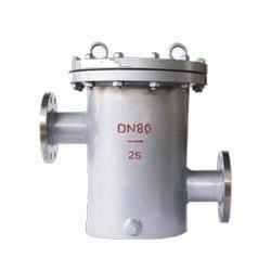 供应铸钢不鏽鋼高低篮式过滤器,筒形过滤器,桶式過濾器