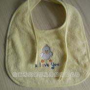 竹纤维婴儿口水巾小鸡围兜图片