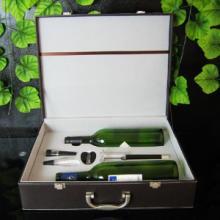 供应高档气压红酒酒箱4件套 淘宝热卖酒具套装 具新品上市 葡萄酒酒具