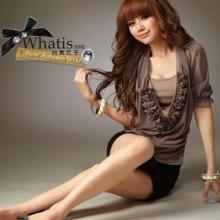 韩版女装2012春夏新款深V领时尚显瘦性感蕾丝背心打底衫批发