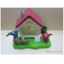 树脂声控鸟,521双鸟声控,玩具工艺摆饰