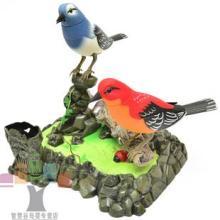 西骑士电动鸟玩具鸟声控 跳舞唱歌鸟仿真鸟感应玩具音乐