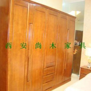 实木衣柜图片