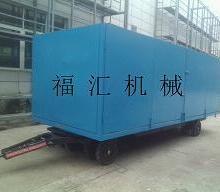 供应行李拖车 载货行李车 机场行李平板拖车