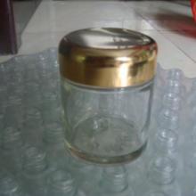 供应100g膏霜瓶,电镀铝盖子批发