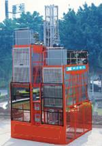 广西货用施工升降机图片