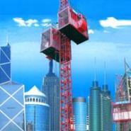 最专业施工升降机公司图片