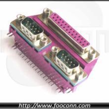 供应三层D-SUB连接器/三层VGA连接器/电脑主板VGA连接器