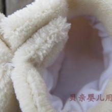 供应牛奶白婴儿学步鞋春秋新款珊瑚绒婴儿鞋防滑学步鞋质量保证批发