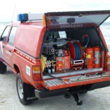 供应德国奥尔净高压细水雾(OERTZEN)皮卡型细水雾消防车批发