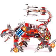 立体拼图3D拼板机械狗图片
