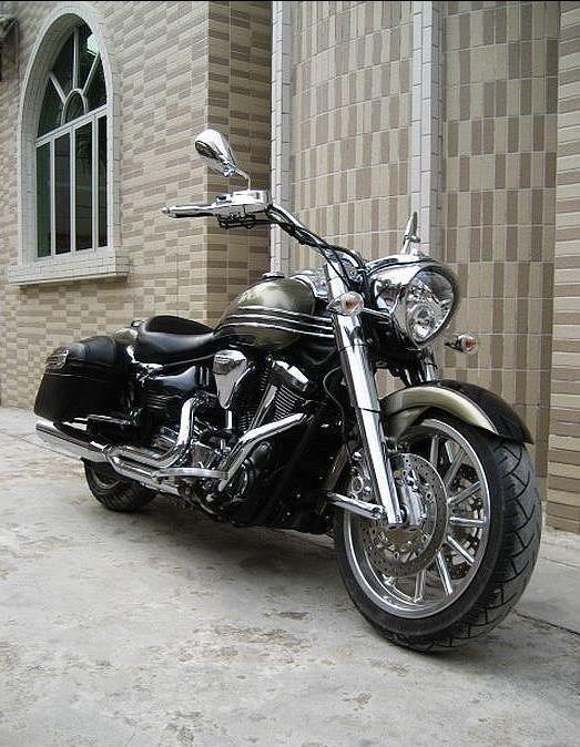 鬼火摩托车照片