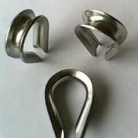 供应优质304不锈钢套环 鸡心环 三角圈 304套环批发 厂家直销