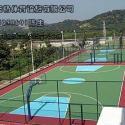 重庆南岸丙烯酸羽毛球场图片