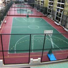渝中区篮球场场地施工图片