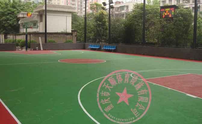 供应永川区EPDM网球场,重庆硅PU羽毛球场,江津区网球场场地施工