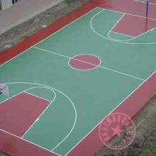 供应涪陵区塑胶篮球场施工,重庆篮球场报价,江北区优质体育健身设施运动安全球场地面施工图片