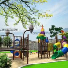 重庆地产玩具供应商¢重庆安全地垫¢ 重庆万州区室外塑料组合滑梯图片