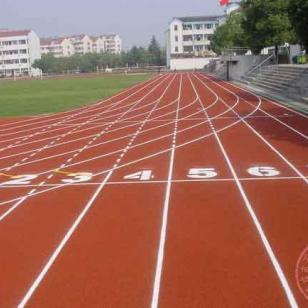 渝中区运动场跑道施工图片