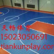 大足县室内PVC地板篮球场图片